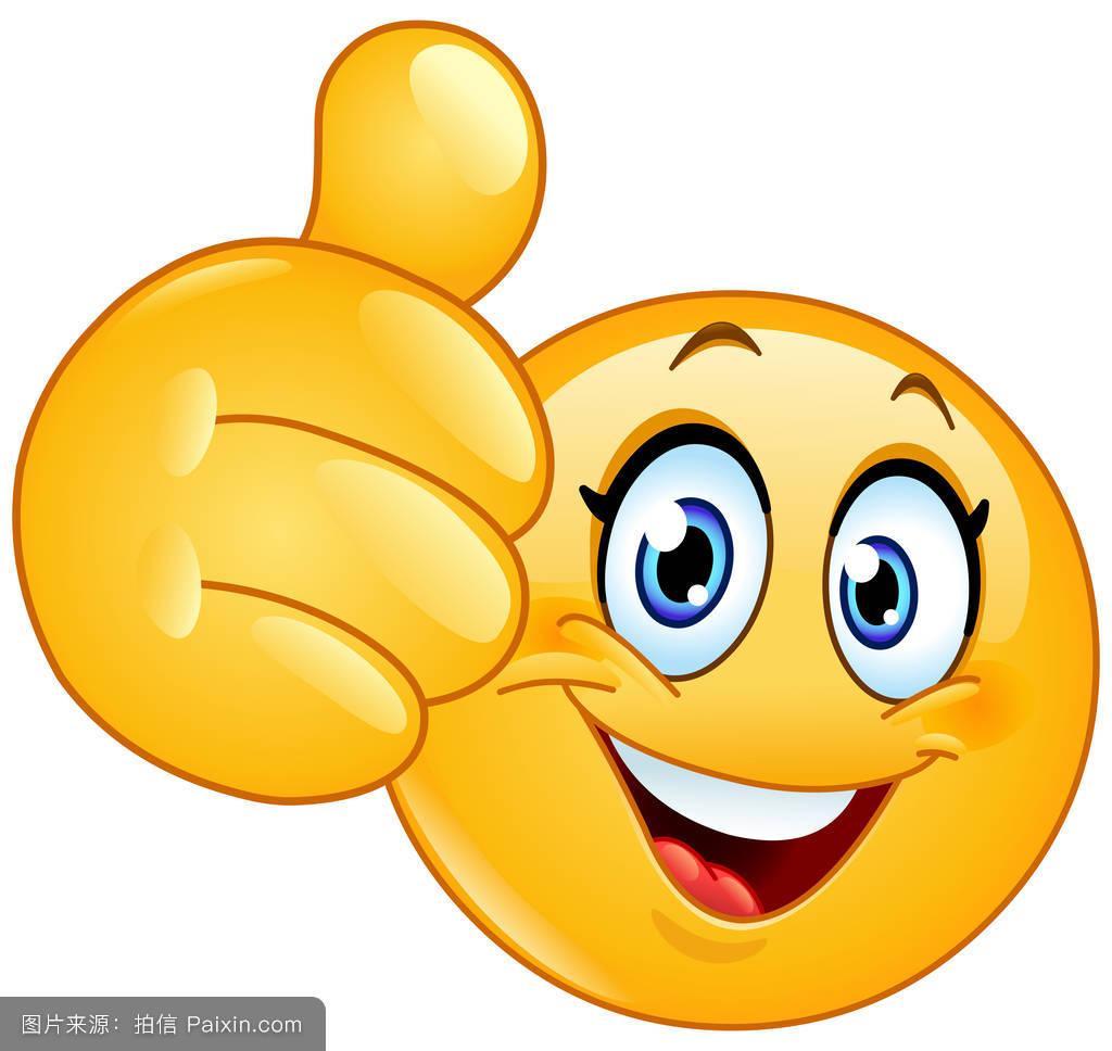 笑�9�9�#��'_卡通,可以,女人,性格,获胜,符号,睫毛,面对,黄色的,竖大拇指,笑,签名