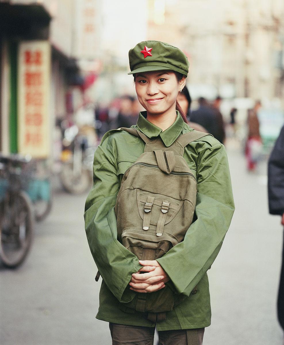 87式军服军人相片-06式军装的图片图片