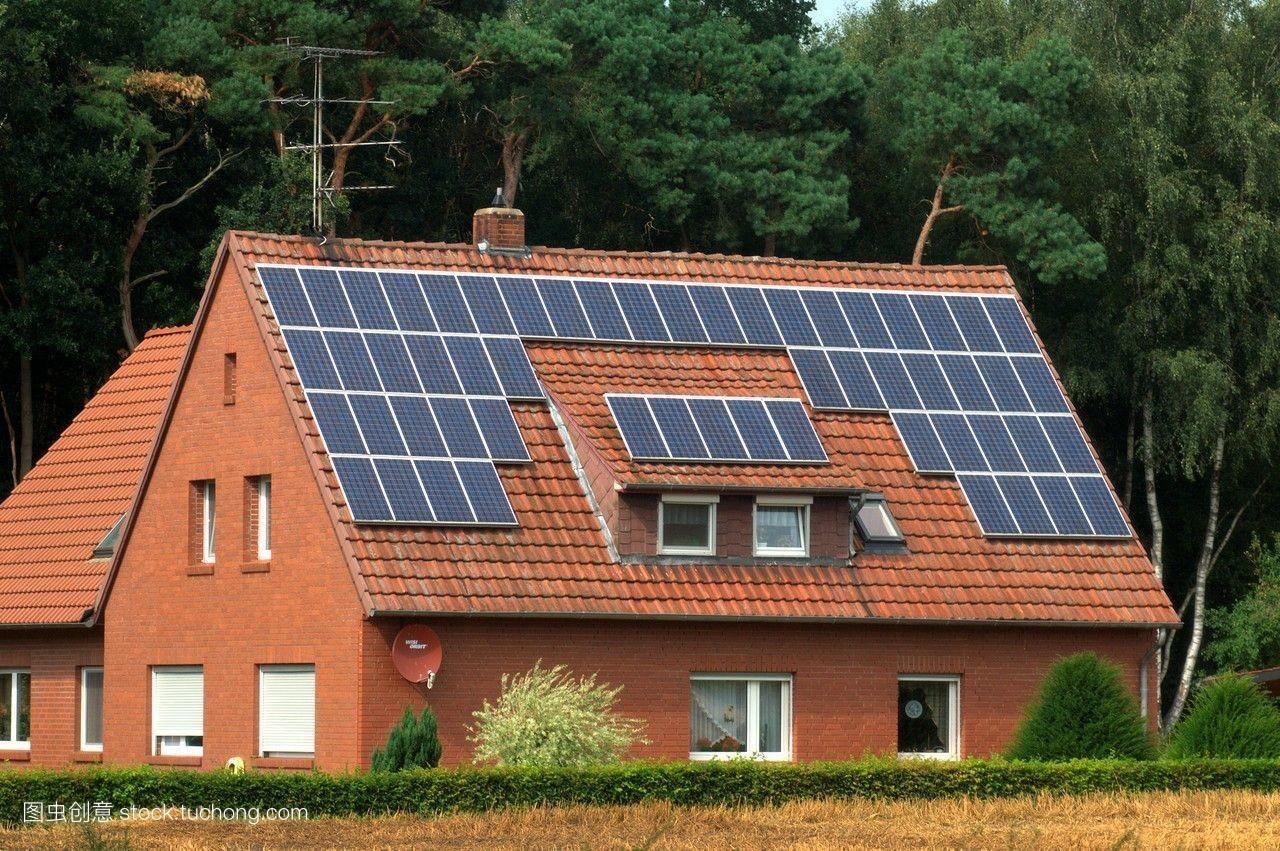 欧洲,德国,房屋,树,屋顶,木材,彩色图片图片