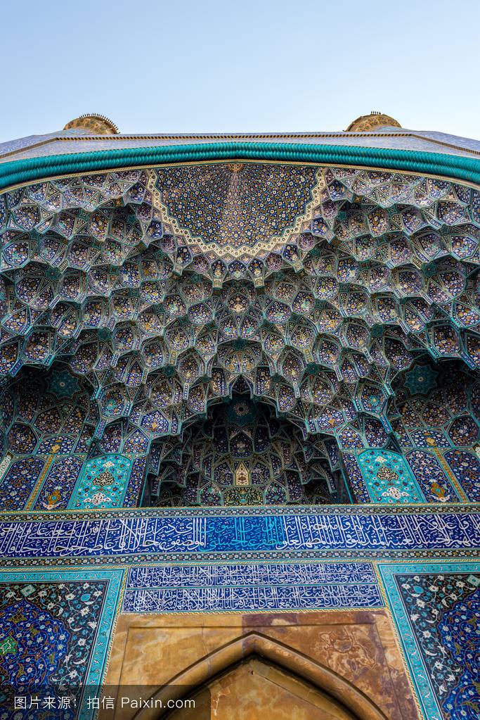 茹..�/ey�h�g*9.+yf�zh���m���y����%9�$_瓦片,伊朗伊斯兰共和国,旅游景点,宗教,瓷砖,hispahan,建筑学,入口