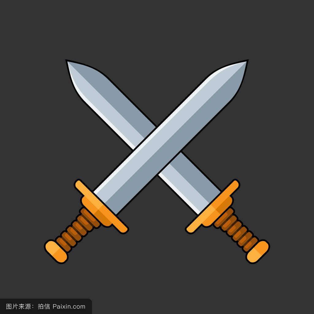 冲突,战斗,剑,形状,矛,分离,古老的,枪,轮廓,安全,白色,战争,铁,古代图片