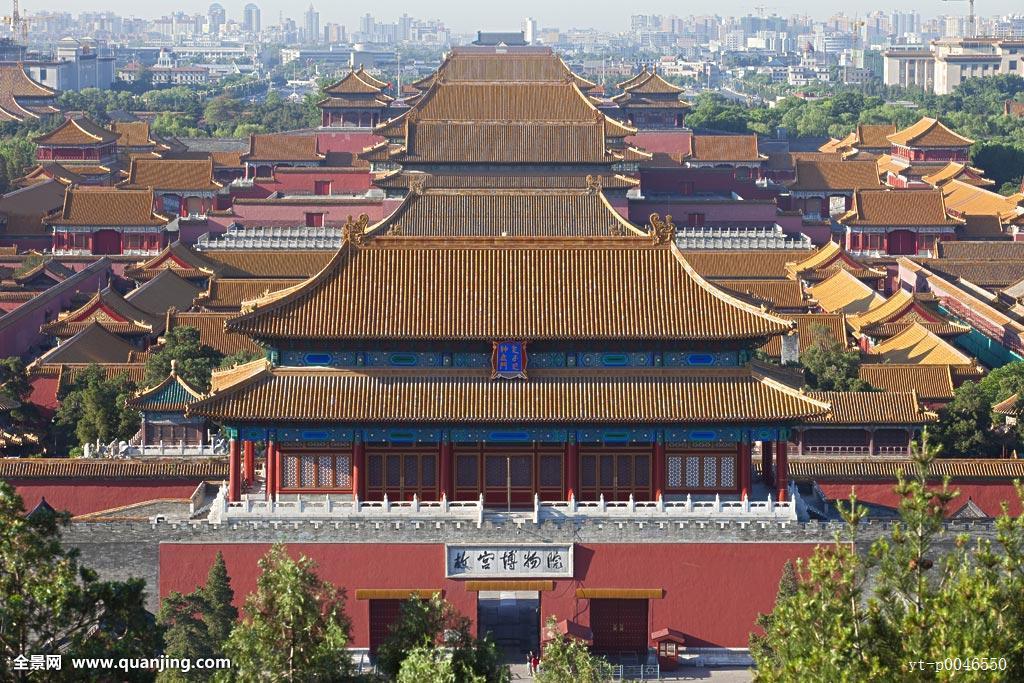 东亚,北京,故宫,紫禁城,皇宫,门楼,城楼,红墙,故宫博物院,神武门,宫殿图片