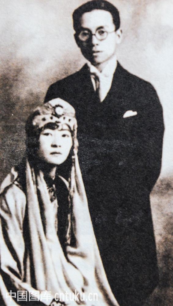 林徽因 梁思成结婚照图片