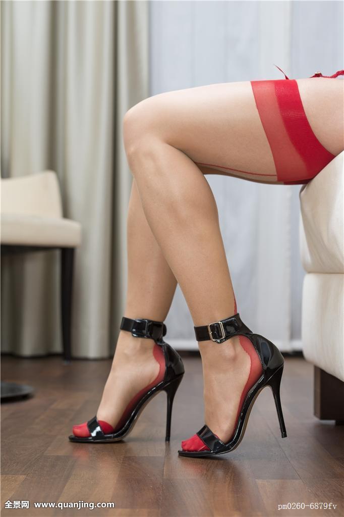 草丝袜女_腿,丝袜,吊袜带,高跟鞋,鞋