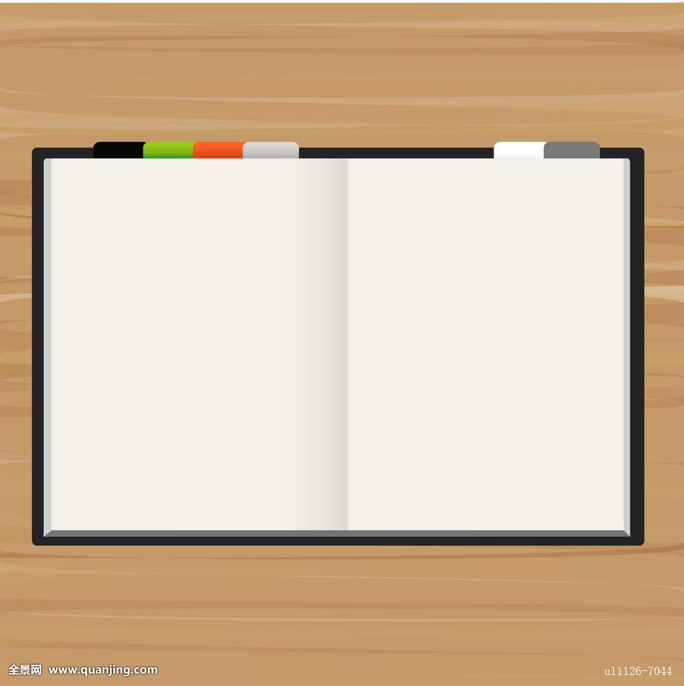 留白,书页图片