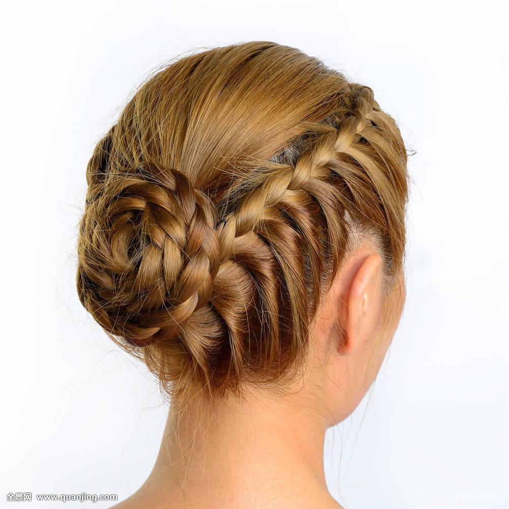 女人发型背影分享展示图片