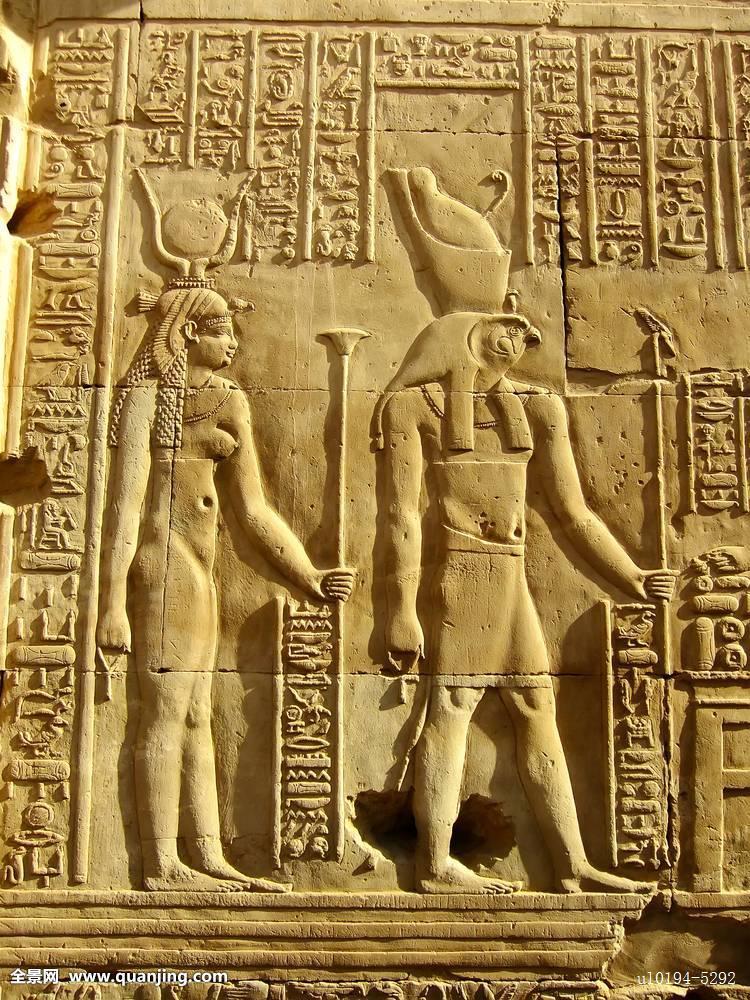 旅行景色埃及古老法老非洲石头雕塑雕刻地标建筑宗教-法老图片