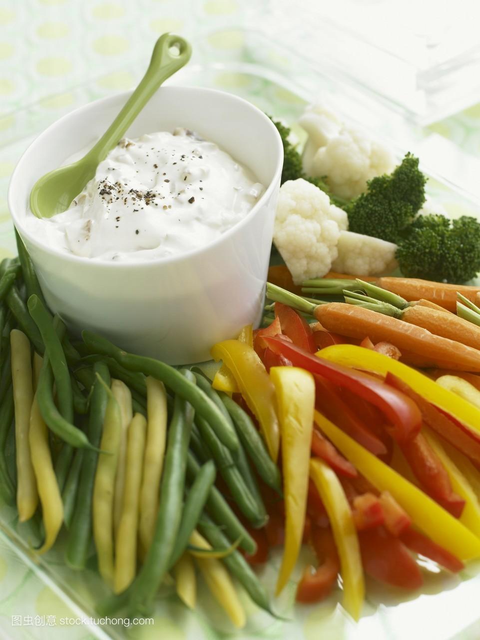 器皿,大量,安好,素菜,素食,配方,美味,沙拉,妥贴,开胃菜,健康,盘子,做图片