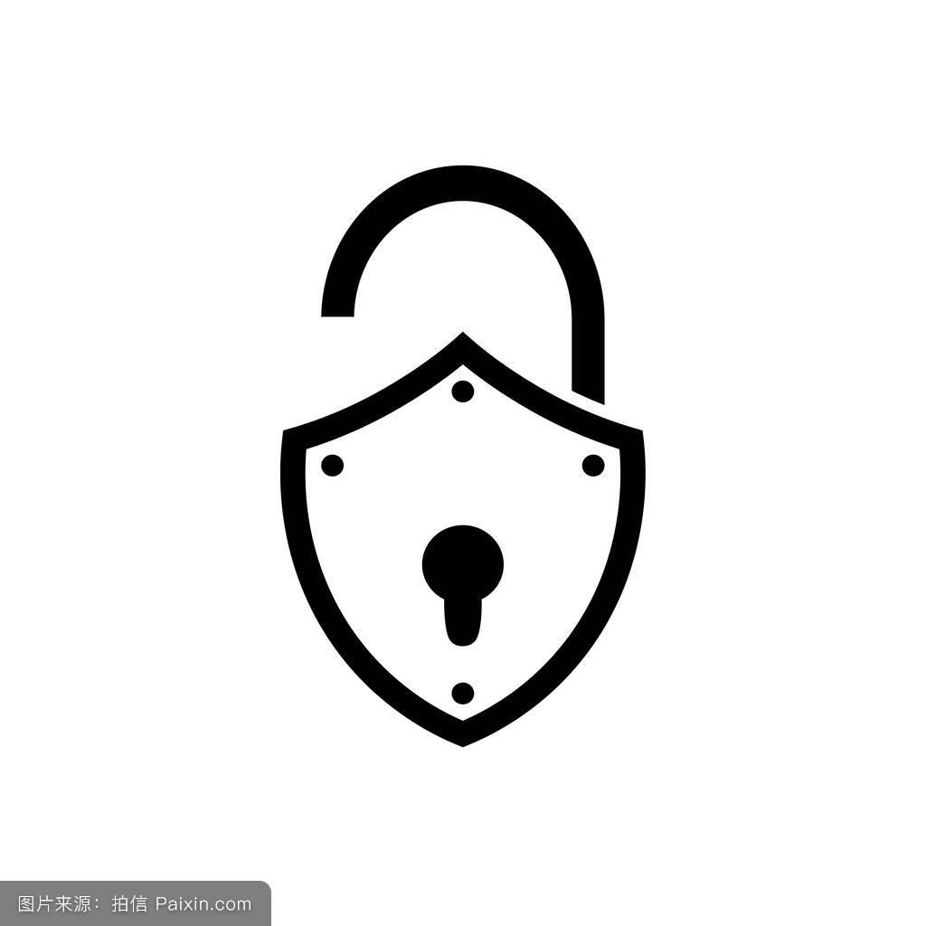 系统,打开,锁孔,签名,形状,加密,秘密,互联网,简单的,关闭,安全,按钮图片
