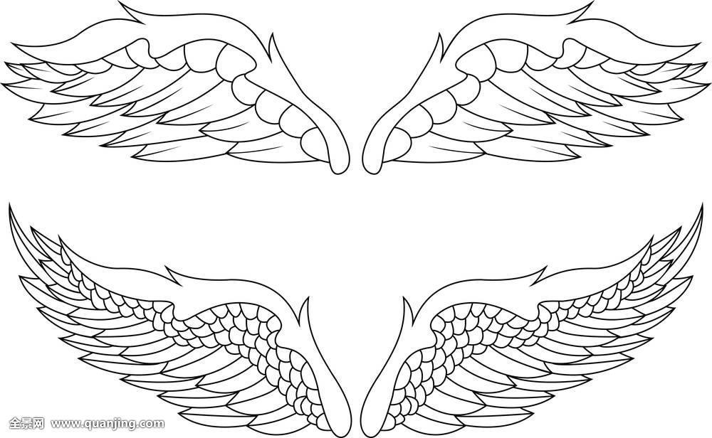 传统纹身线条分享展示图片