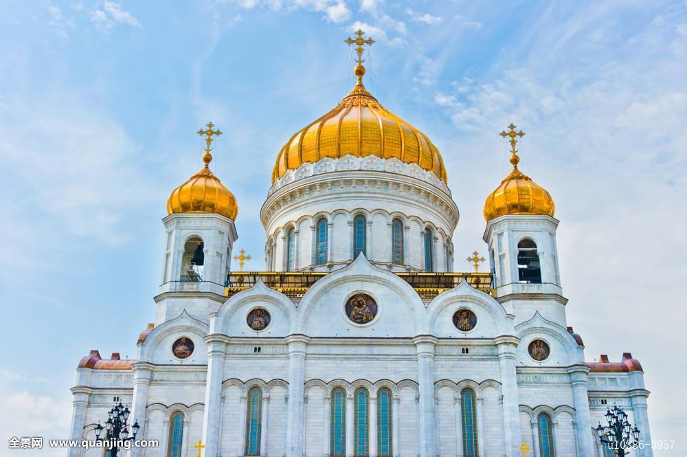 大教堂,耶稣,莫斯科,俄罗斯,欧洲图片