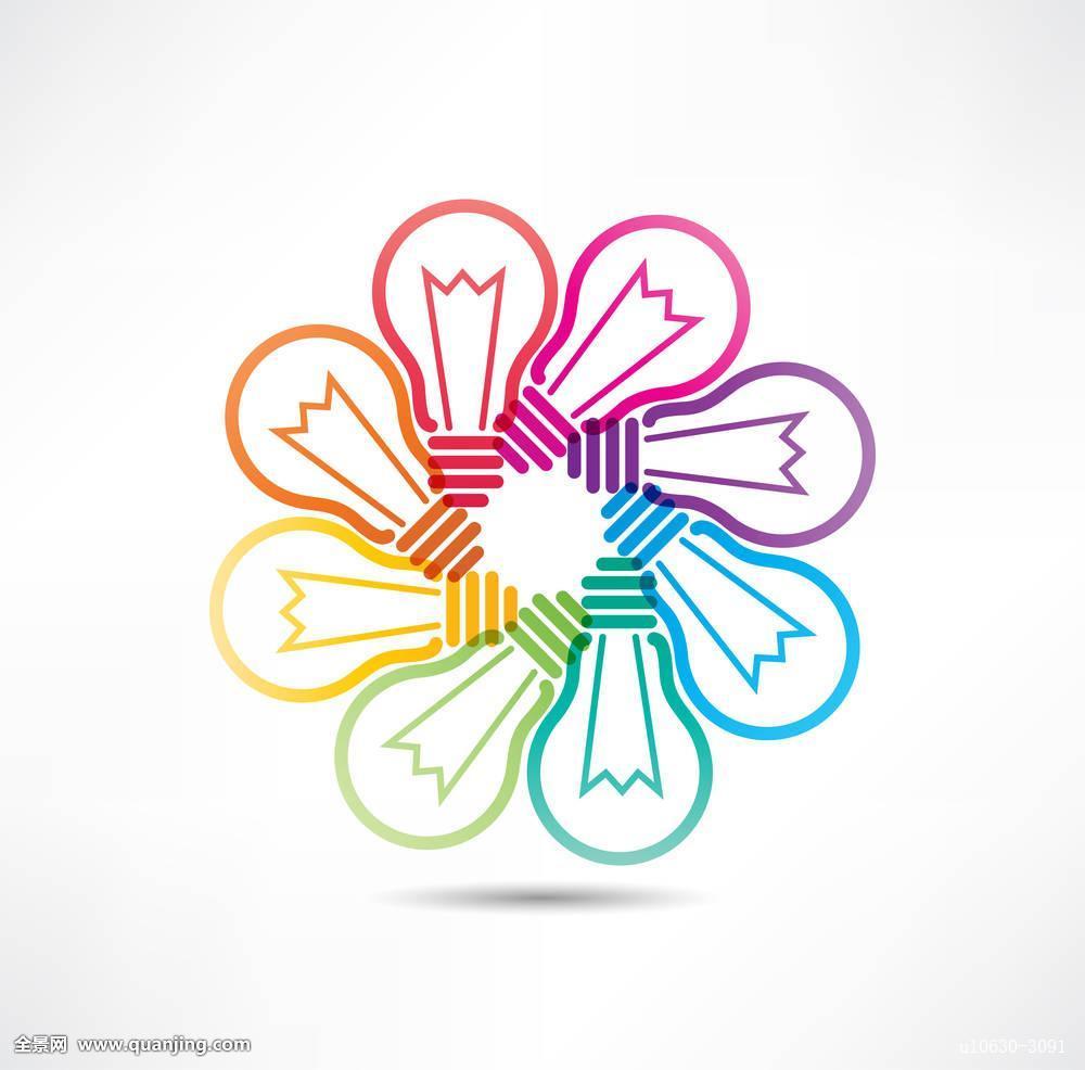 活动,艺术,背景,黑色,智慧,灯泡,商务,彩色,概念,创意,设计,教育,电图片