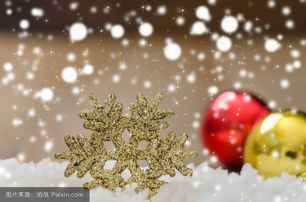 christmas decoration over wooden