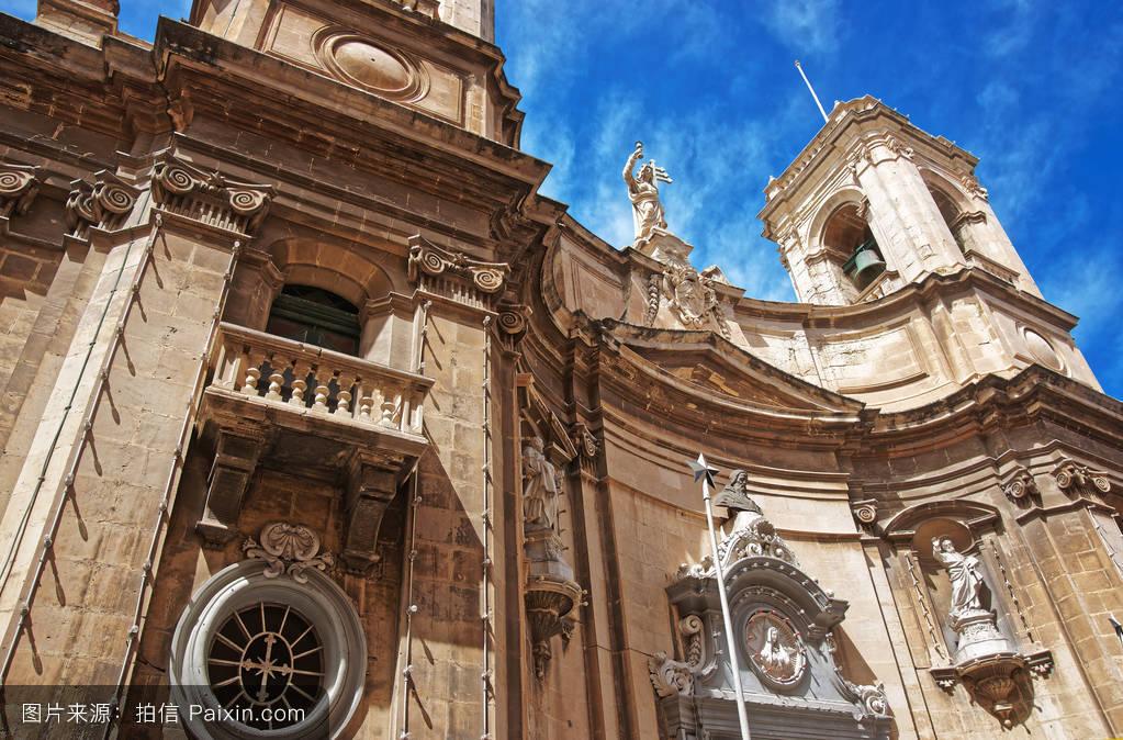 多米尼克,天堂,城市的,假期,中世纪,欧洲的,多米尼加,教堂,宗教,大教图片