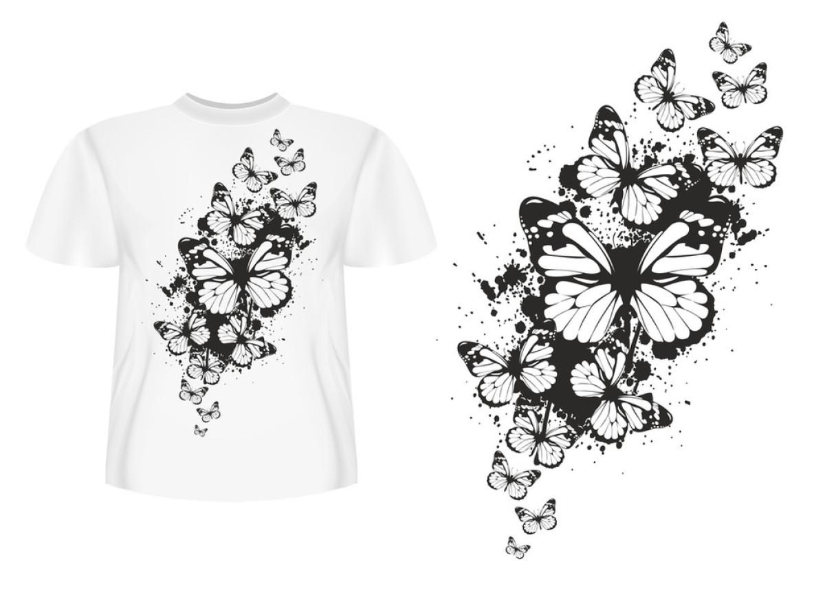 白色,抽象,黑色,蝴蝶,华丽的,昆虫,女服,设计,时尚,图片规格,纹身图片