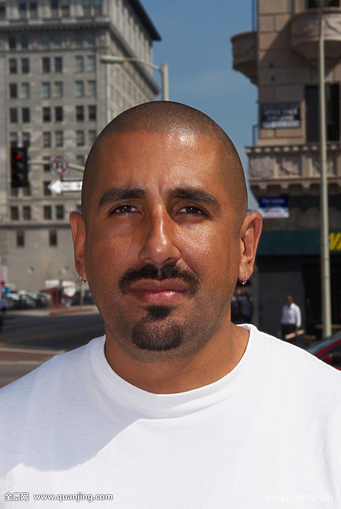 发型,上半身,西班牙裔,生活,位置,看,看镜头,洛杉矶,男性,男人,中年图片
