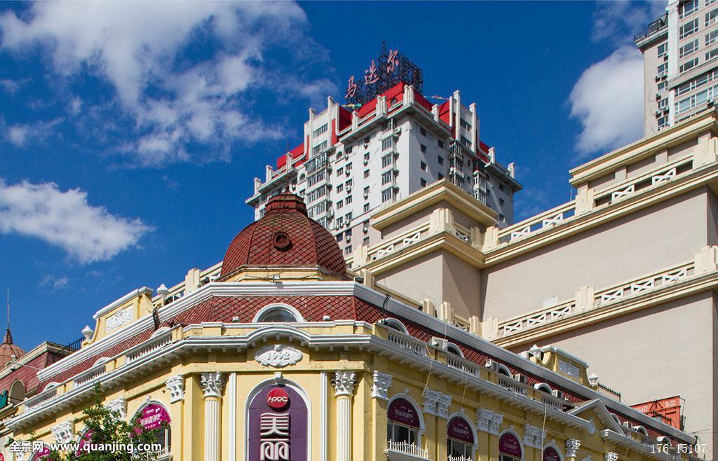 遗产,俄式,砖木结构,二十世纪,无人,俄罗斯文化,古老,历史,现代建筑图片