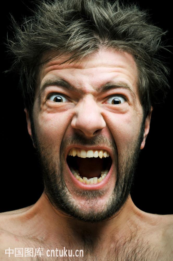 热情,人,恼火,痛苦,问题,歇斯底里,心理健康,行为,压力,嘴,生病,表情图片