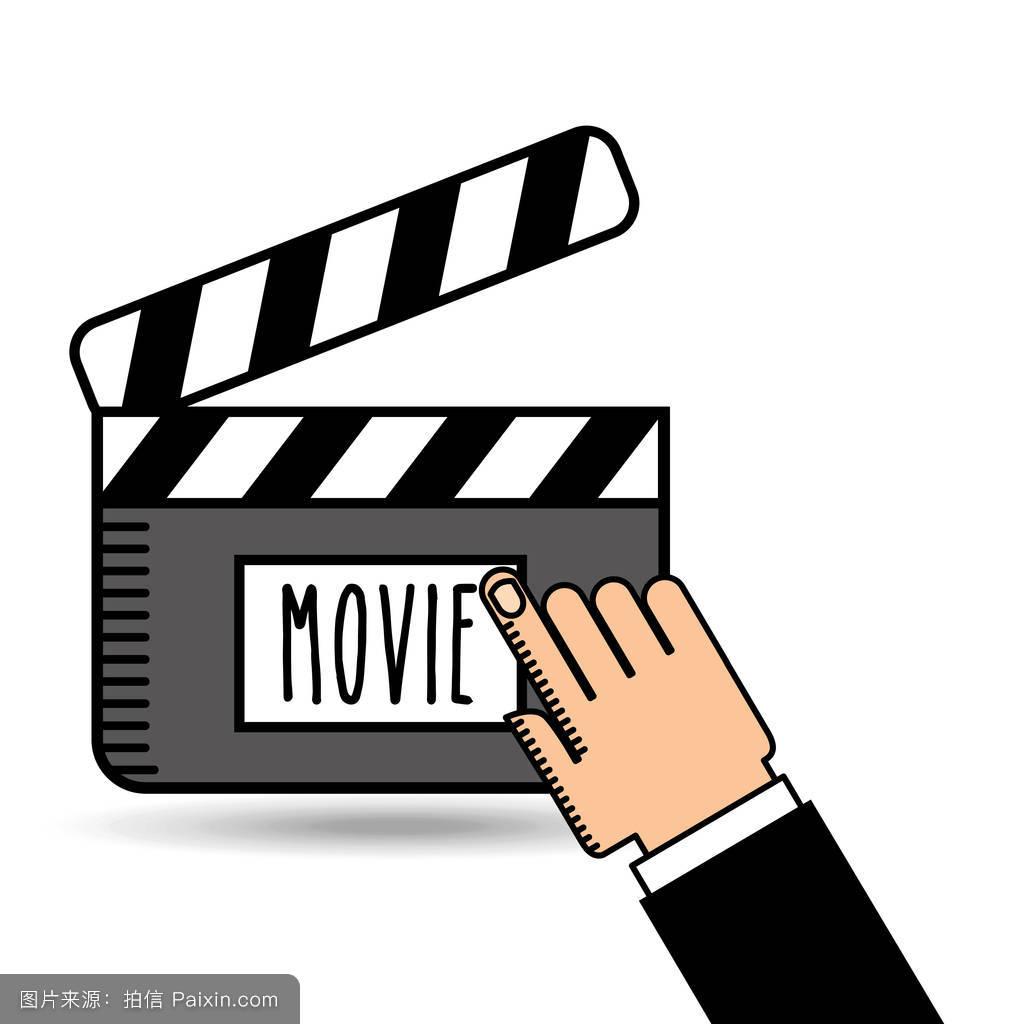 拍电影方面的图标设计图片