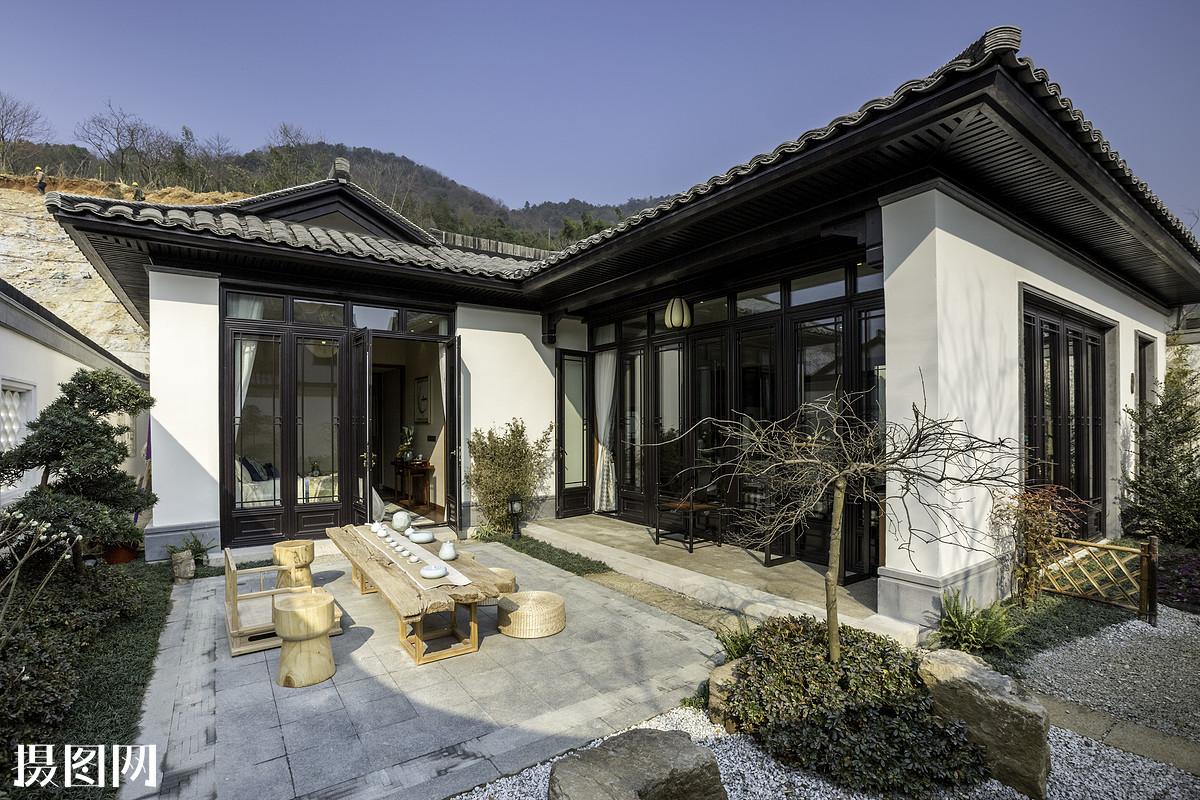 乡村风格,中式风格,户外,家居,室内,家,居家,室内设计,度假,别墅,休闲图片