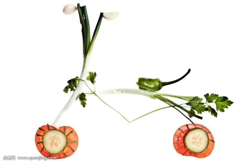 自行车,蔬菜图片