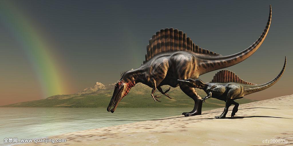 什么恐龙最厉害囹�a_恐龙,后代,湖,喝,水