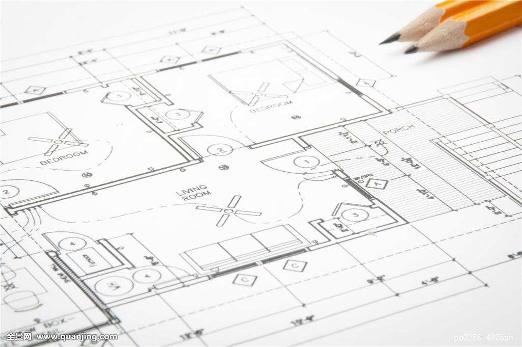 建筑,蓝图,房屋设计图图片