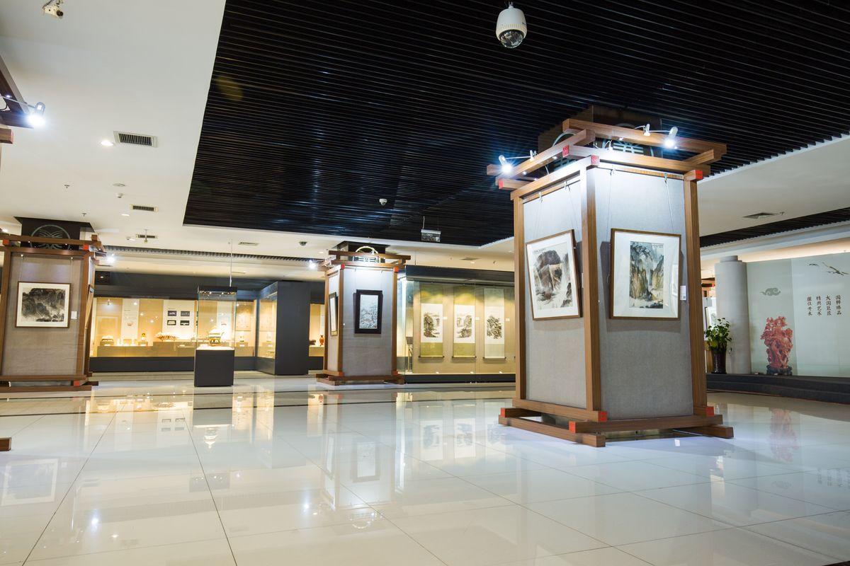 画展展厅布置分享展示图片