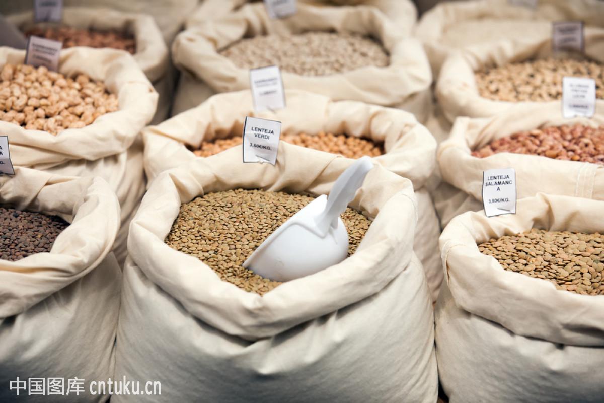 食品�zl�9��9�+_包,大麦,豆,谷类食品,街道,零售,商店,肾脏,市场,销售,选择