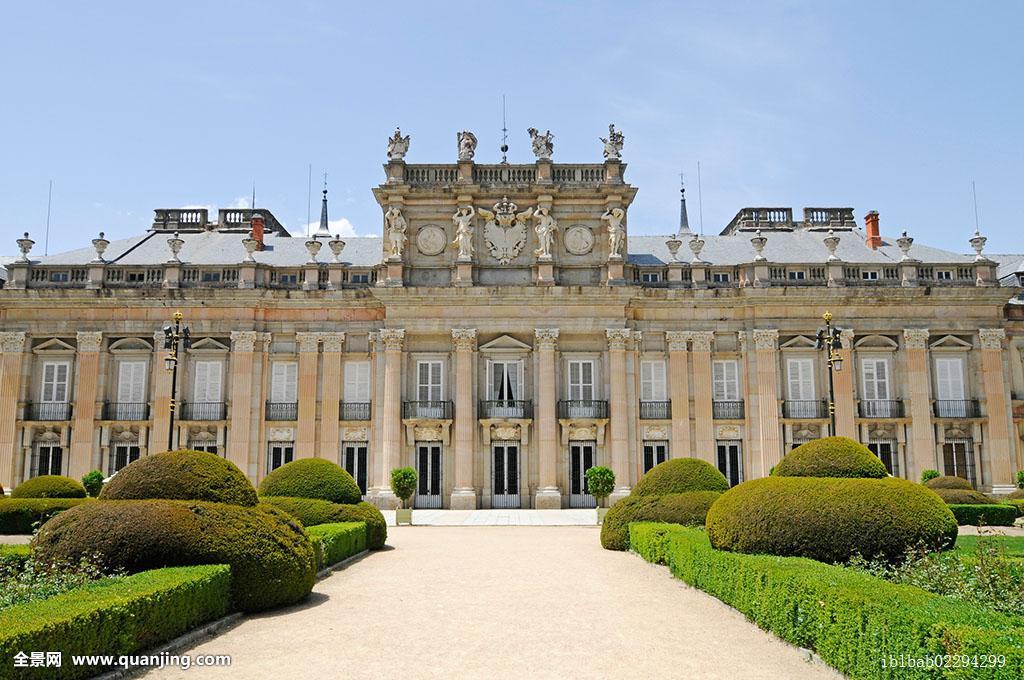 马德里皇宫,宫殿,皇家,夏天,住宅,省,塞戈维亚,卡斯蒂利亚,卡斯提尔图片