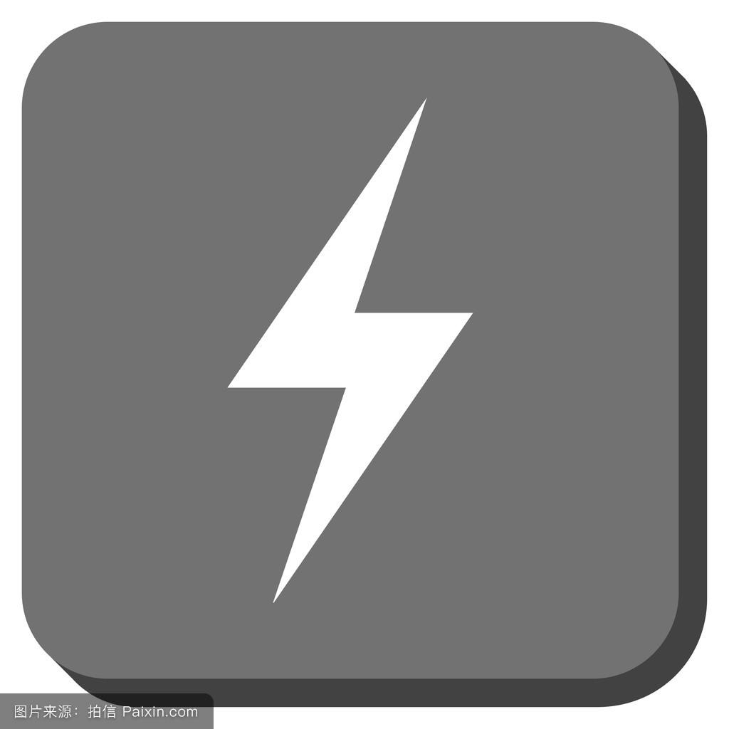 迅雷5图标_迅雷,设计元素,闪电,平的,打雷,指控,电的,象形文字,罢工,能量,快的