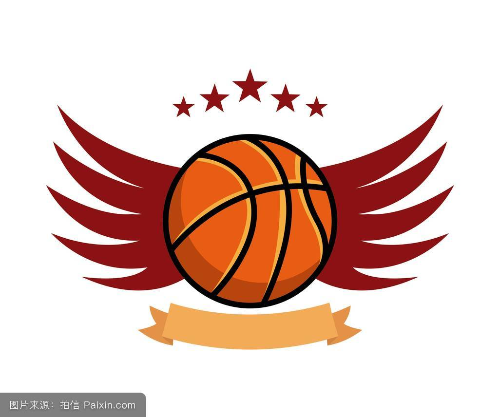 篮球运动的标志图标图片