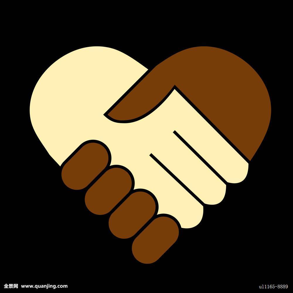 伙伴,职业,比赛,关系,成功,支持,团队,一起,两个,联合,团结,白色,心形图片