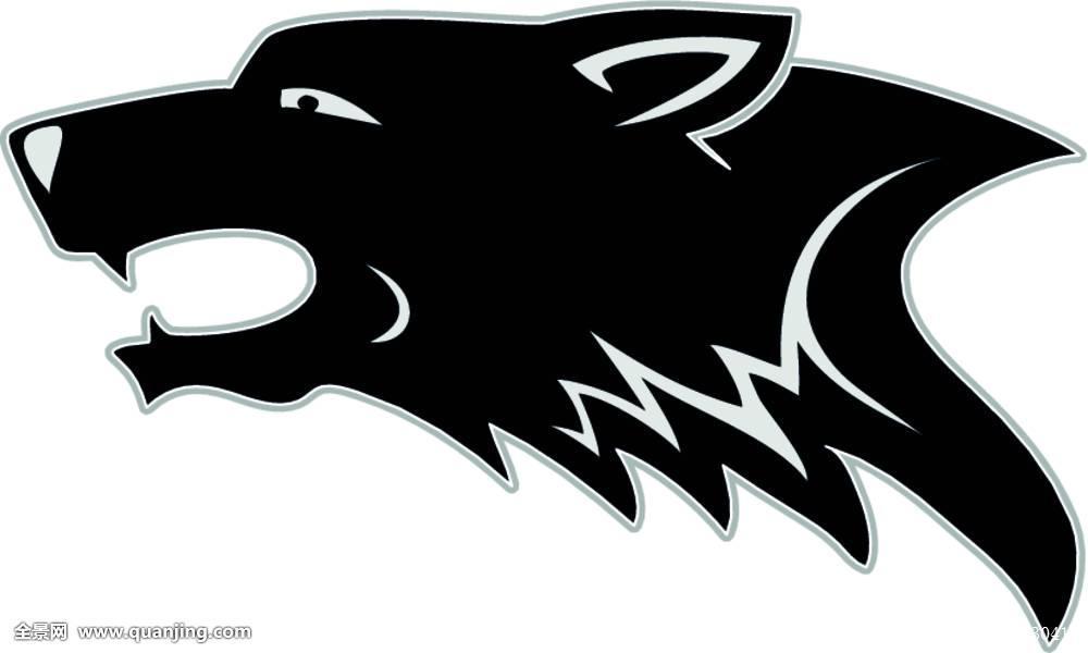 狼,头部,狗,部族,纹身,动物,吉祥物,艺术,黑色,犬属,俘获,食肉动物图片