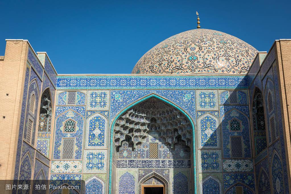 茹..�/ey�h�g*9.+yf�zh���m���y����%9�$_圆顶,伊朗伊斯兰共和国,宗教,hispahan,建筑学,入口,该,地标,冲天炉