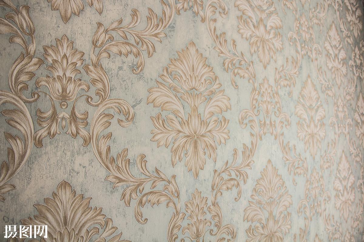 墙纸欧式花纹图片