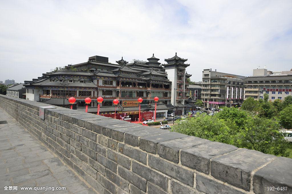 古代建筑,古典风格,城楼,宫殿,砖木结构,屋檐,屋顶,群楼,中式建筑图片