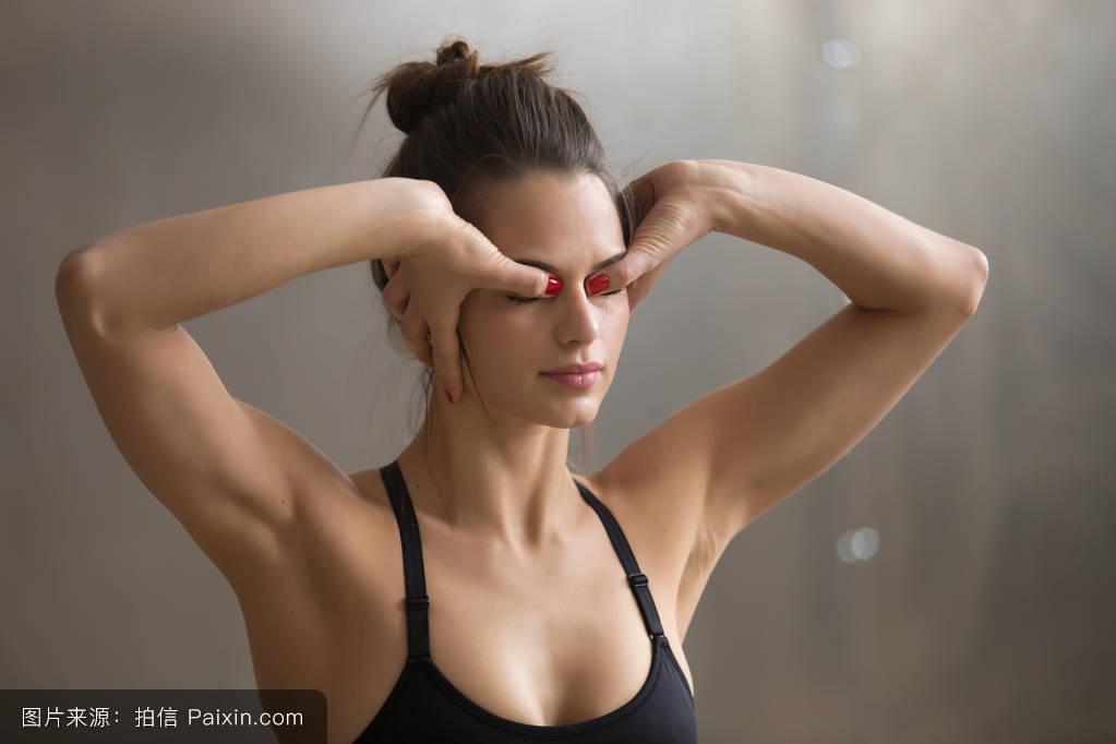 九九干女网_爱运动的,克里亚,女人,体操,美丽的,冥想,健身,呼气,姿势,瑜伽,adjna