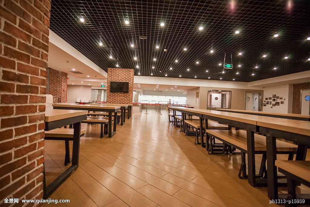 餐馆,自助餐,自助餐厅,饭厅,建筑,桌子,椅子,餐桌,餐椅,书架,杯,咖啡图片