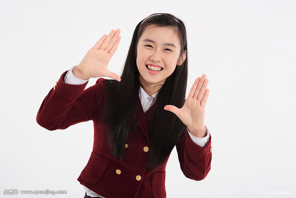 亚洲制服下载_人,亚洲人,韩国人,青春期,东方,年轻,女人,一个,姿势,手,制服,学生