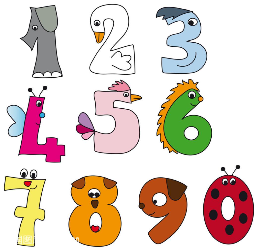 动画,好玩的,喙,教,设计,数学,数字,童年,团队,象征主义,小学生,幸福图片