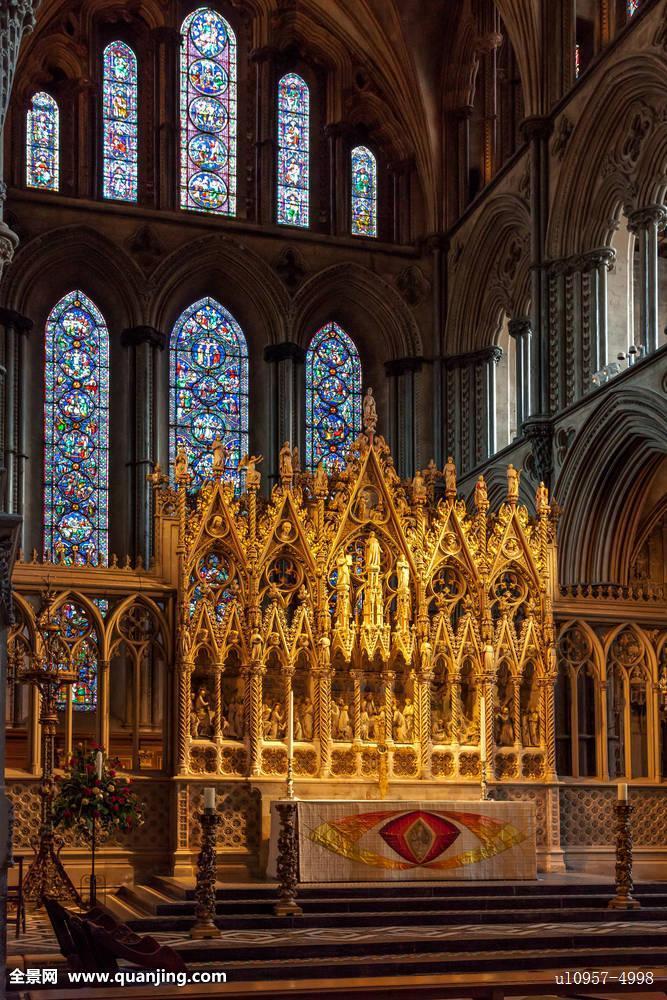蓝色,鲜明,英国,蜡烛,基督教,教堂,彩色,精致,英格兰,欧洲,信念,玻璃图片