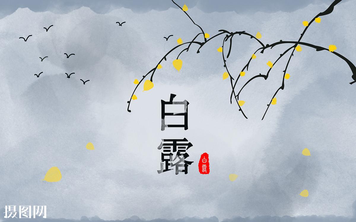 飞雁,鸿雁,飞鸟,清新,唯美,云雾,夜空,山,二十四节气,24节气,白露图片