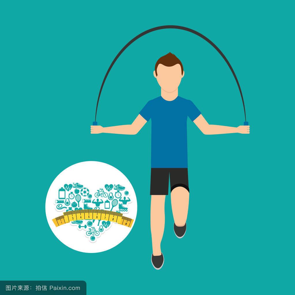 跳绳能减肥吗_心脏减肥运动男子跳绳