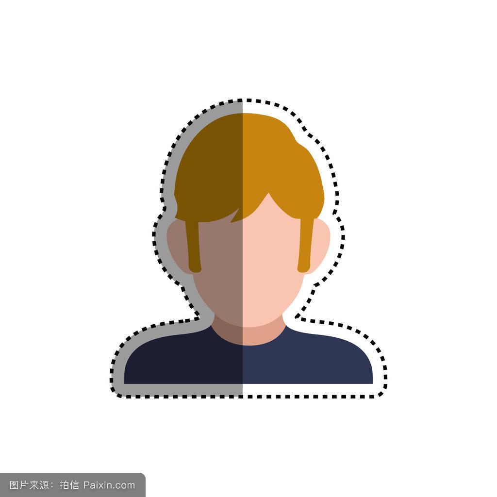 头发贴图模型分享展示图片