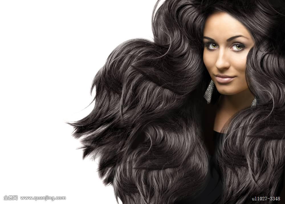 中长头发卷发发型图片展示图片图片