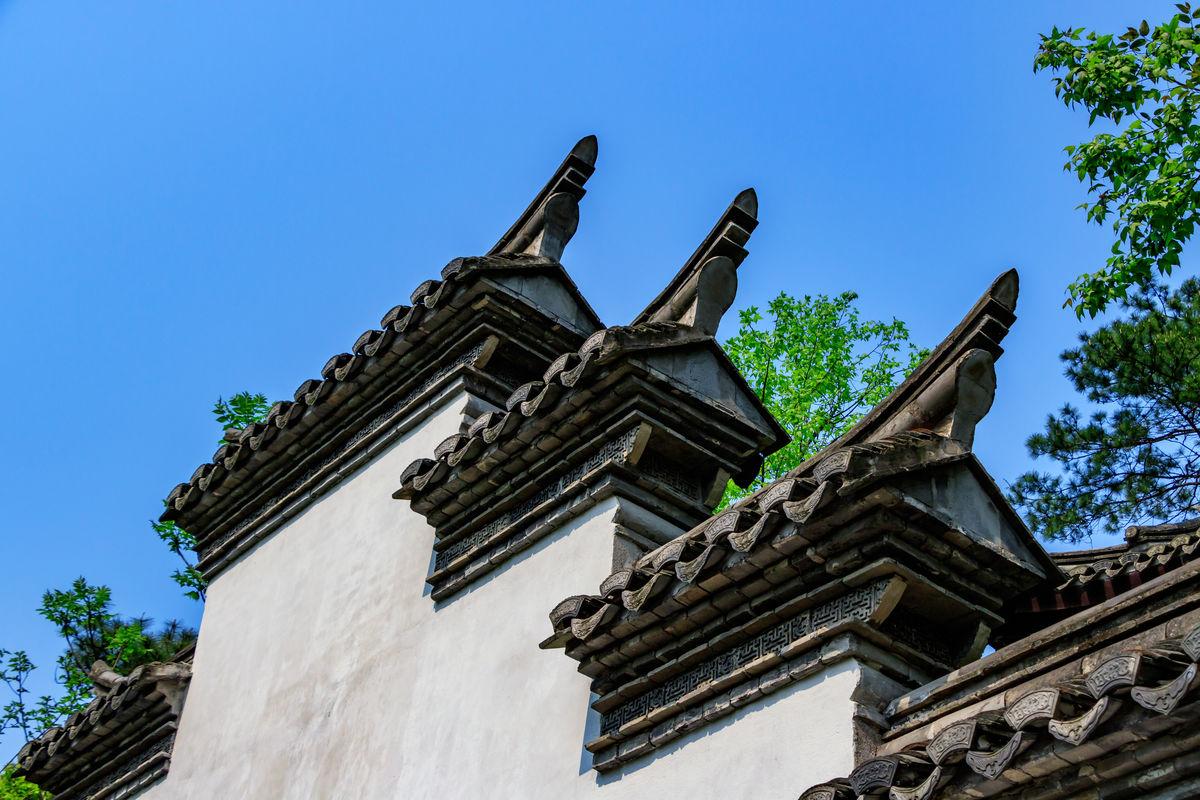 马头墙 老房子 中式建筑 古图片