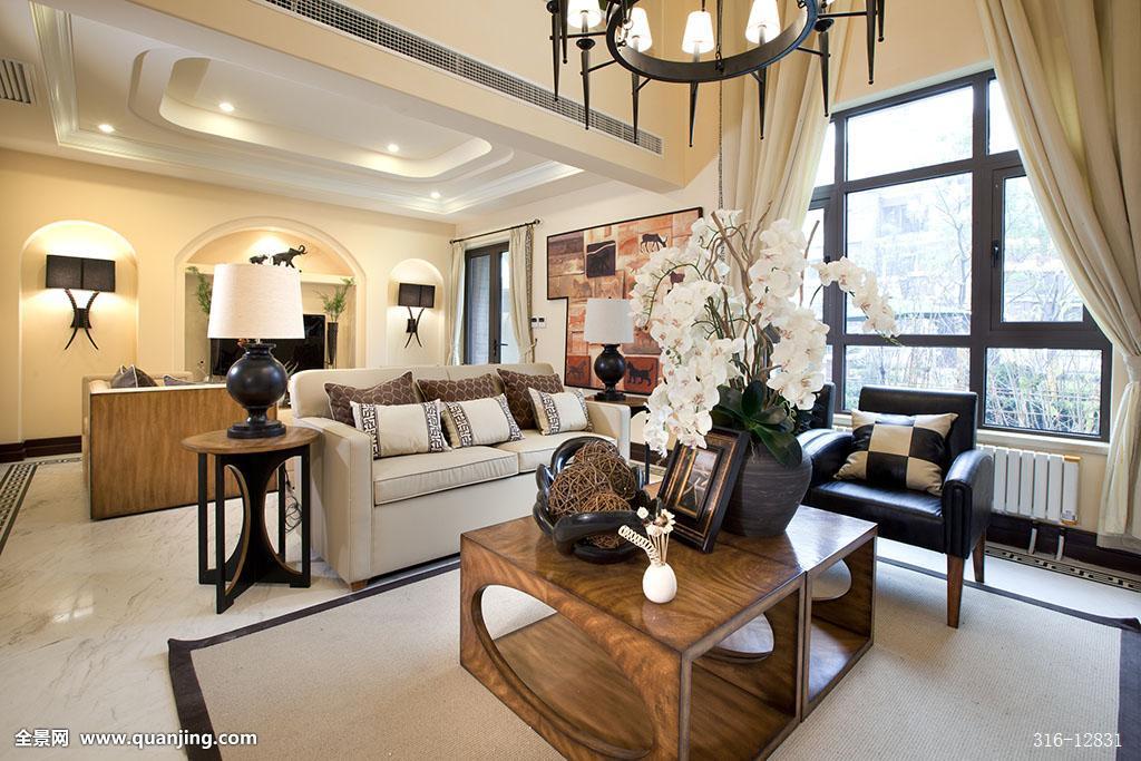 室内,明亮,状态良好,家,灯光,室内设计,硬木地板,别墅,窗帘,开放式图片