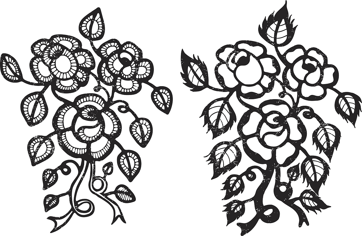 手上小纹身图案一朵花分享展示图片