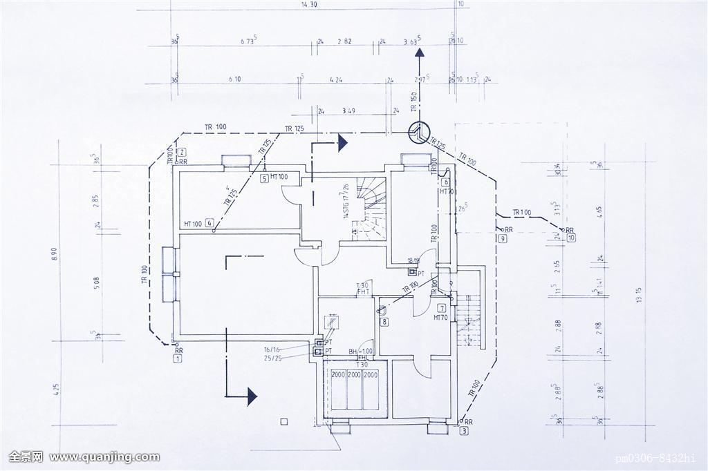 施工图与施工蓝图的区别